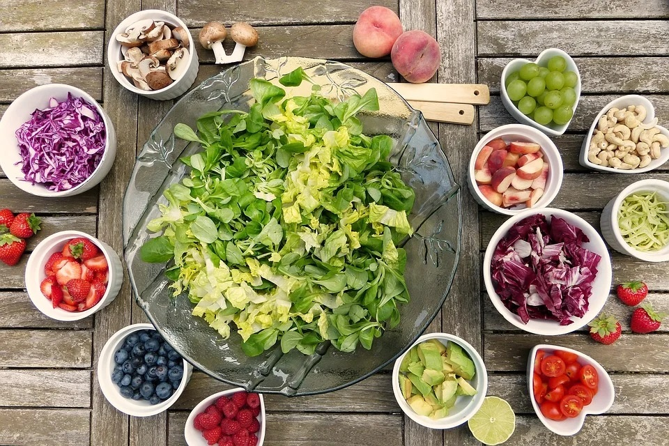 Saláty jsou vhodné
