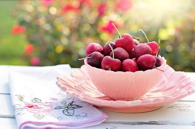 třešně a višně