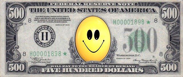 smajlík na dolarovce