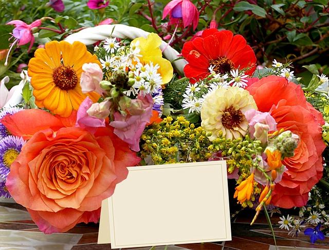 doručení kytice