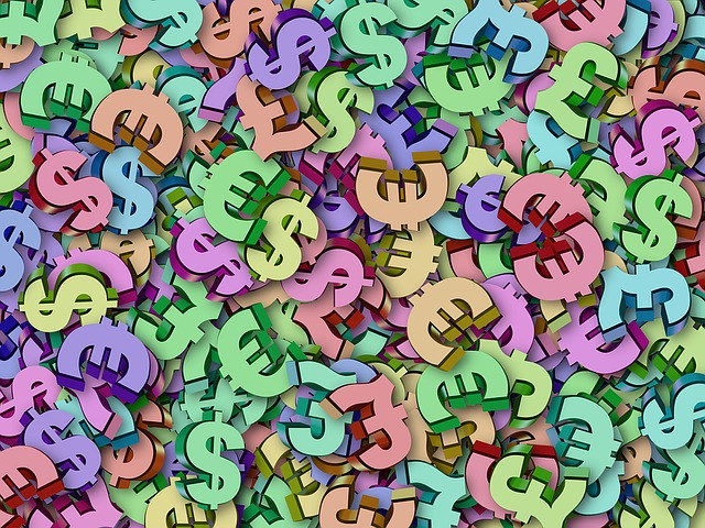 symboly měny